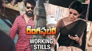 Rangasthalam Latest Working Stills 2018 | Ramcharan | Samantha | PoojaHegde