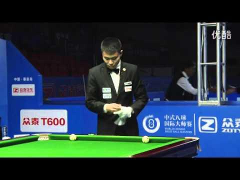 Zheng Yubo VS Shane Van Boening - 2016 World Chinese 8 Ball Masters