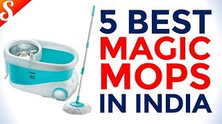 5 Best Magic Mops for Home Use in India with Price