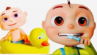 Good Habits Songs For Kids | Brushing & Bathing Songs | Videogyan 3D Rhymes