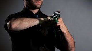 How to Open 3 Beers at the Same Time | Flair Bartending
