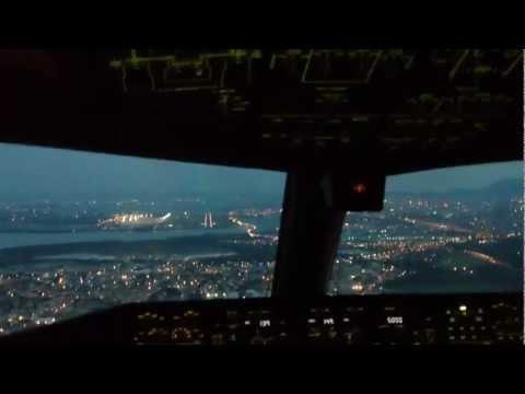 Boeing 777 landing Rio de Janeiro