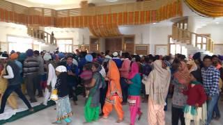 Murti Stahpna Bhagwan Valmiki ji Tirath Sahib Amritsar 01:12:2016 DGill