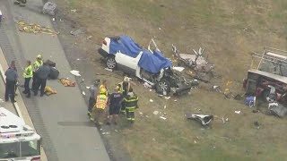 5 family members, including 4 children, killed in Delaware crash, police say