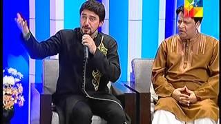 Farhan Ali Waris Reciting Manqabat  Jashn e Ramazan Hum TV Show