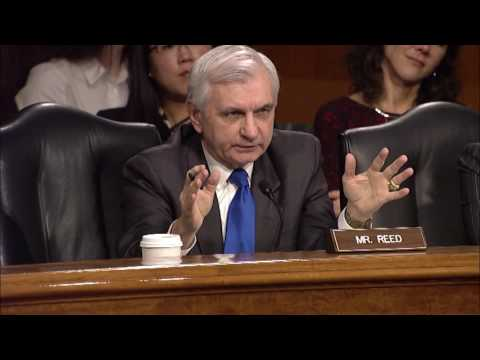 Reed Questions Witnesses During Senate Intelligence Committee Hearing