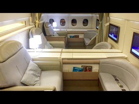 Air France FIRST CLASS New La Premiere Cabin