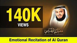 ISLAMIC VIDEOS :  Emotional  Recitation of Al Quran by  Mishary Rashid Al Affasi with crying