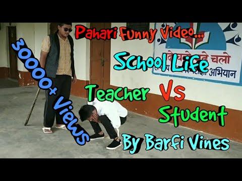 Xxx Mp4 SCHOOL LIFE Teacher Vs Student By Barfi Vines Pahadi Student Pahadi Vines Himachali Comedy 3gp Sex