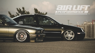 SANCHO KINGZ × Air Lift Performance Japan Dealers | BMW E30 & VW JETTA MK4