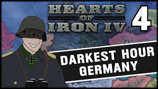 OPERATION BARBAROSSA! Hearts of Iron 4 Darkest Hour Mod Germany Campaign Part 4