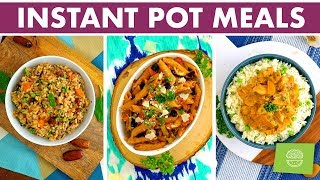 Healthy Instant Pot Meals For Spring (Vegan Options!)