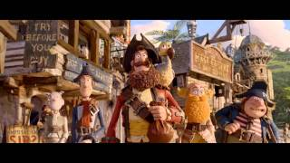 THE PIRATES! BAND OF MISFITS (3D) - HD Trailer english | Ab 30.3.2012 im Kino