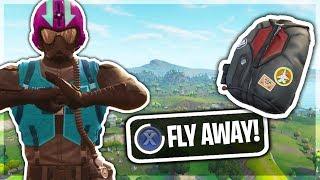WINGMAN SKIN Can FLY in Fortnite Battle Royale!