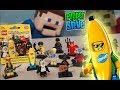 LEGO Mini Figures Series 16 FULL SET Blind Bag Case Review unboxing Stop motion Puppet Steve