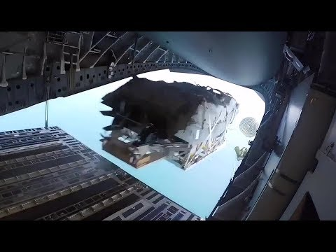 Xxx Mp4 Special Operations Boat Airdrop From C 17 Low Velocity Airdrop Delivery System LVADS 3gp Sex
