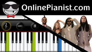 The Black Eyed Peas - Just Can't Get Enough - Piano Tutorial