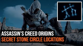 Assassin's Creed Origins - All Stone Circle Locations