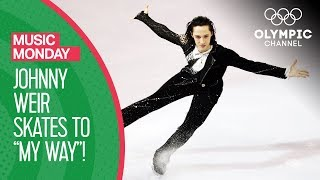 """Johnny Weir Skates to """"My Way"""" at the Torino 2006 Winter Olympics   Music Monday"""