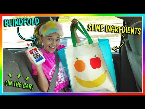 Xxx Mp4 MAKING SLIME BLINDFOLDED IN THE CAR We Are The Davises 3gp Sex