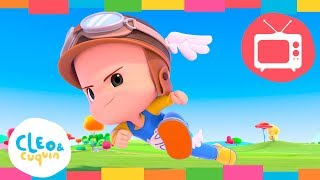 CLEO & CUQUIN - POWER UP. (S1 - Ep4) Full Episodes. Nick Jr I Cartoon For Kids