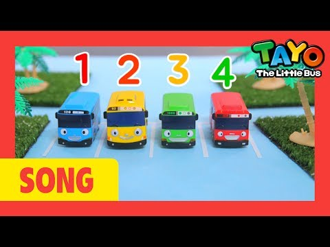 Number Song l Tayo number Song l Let's learn numbers l Nursery Rhymes l Tayo the Little Bus