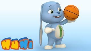 NuNi –Animation for toddlers   Basketball   Imaginary Ball