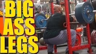BIG ASS LEGS with IFBB Pro Juan Morel