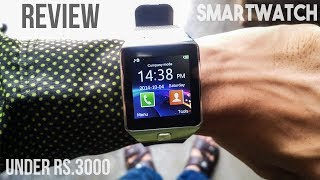 Smart Watch DZ09 with Camera REVIEW and Get a Mobile for FREE   UNBOXING & HANDS-ON