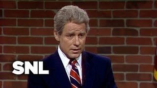 Nightline with Bill Clinton - Saturday Night Live