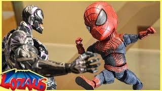 BABY SPIDERMAN Stop Motion Video with Pikachu & Venom