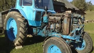 Belarus MTZ 80 repair project , sandblasting, wurth, painting...