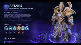 Heroes of the Storm - Artanis Guide