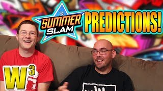 WWE Summerslam 2017 Predictions | Wrestling With Wregret
