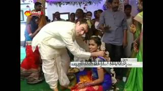 Telugu Girl married London Boy in Visakha
