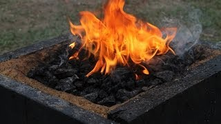 Making a Coal Forge by Logan Pearce Knives.