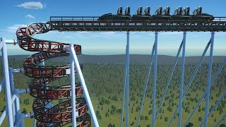 Building A Roller Coaster That Literally Just Snaps Your Spine In Planet Coaster