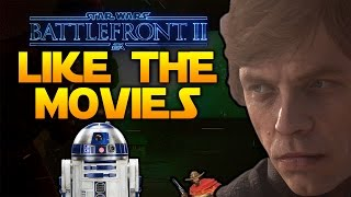 MOVIE-LIKE CAMPAIGN, STAR-FIGHTER CLASSES - Star Wars Battlefront 2
