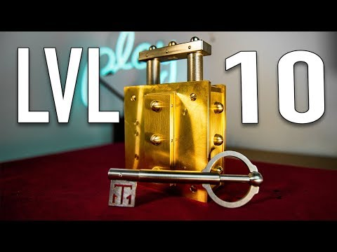 Solving THE HARDEST Lock Puzzle in HISTORY LEVEL 10