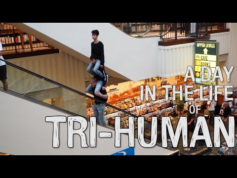 A DAY IN THE LIFE OF TRI HUMAN