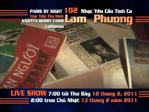 Thuy Nga Paris By Night 102 Nhạc Yêu Cầu LAM PHƯƠNG