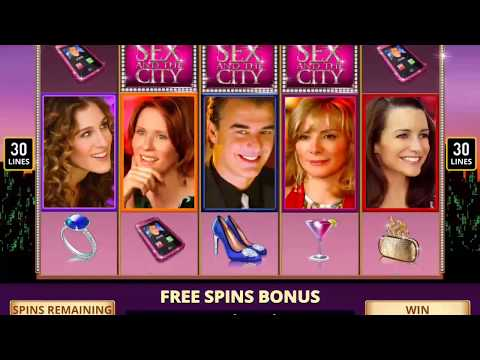 Xxx Mp4 SEX AND THE CITY Video Slot Casino Game With A DIAMOND FREE SPIN BONUS 3gp Sex