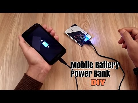 Xxx Mp4 How To Make A Power Bank Using Old Mobile Phone Battery S Homemade 3gp Sex