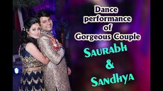 Couple dance performance (Teri Ore and Main hoon sath tere)