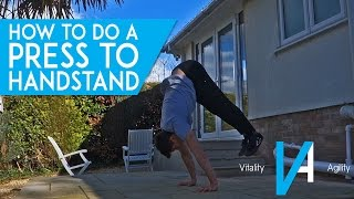 How To Do A Press Handstand (Step By Step)
