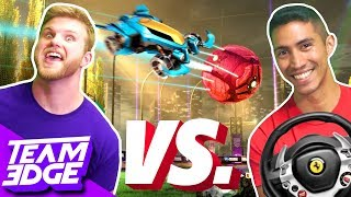 Rocket League Steering Wheel Challenge!