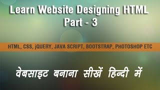 HTML Tutorial Part - 03  Hindi  ( How to use image in html )