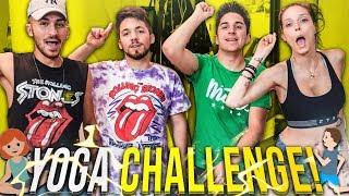 YOGA CHALLENGE LEGGENDARIA CON SABRINA E MATT & BISE!!