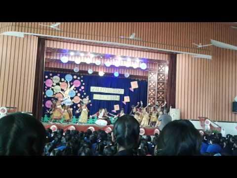 The Prayer dance in Canossa convent girl's Inter college Fzb