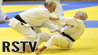 Mujer Consigue Lanzar al Putin en un Ataque de Judo mientras los Medios Ocultaron las Imágenes.